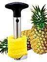 ananas skalare, rostfritt stål 24,5 × 10 × 8,5 cm (9,7 × 4,0 × 3,3 tum)