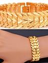 chaude bracelet 18k vente amour plaque de platine d\'or chunky fantaisie de luxe bracelet bracelet trapu pour les femmes de haute qualite