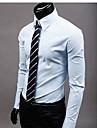 casual chemise de couleur solide de PlayGame hommes