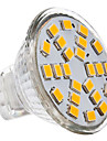3W GU4(MR11) LED-spotlights 24 SMD 2835 230 lm Varmvit / Kallvit AC 12 V