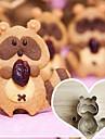 5 piese tăietori cookie desen animat forma raton stabilite, din oțel inoxidabil