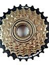 ouest biking® cyclisme 7 vitesses cassettes de velo roue libre 14-28 dent frein de cassette bicyclette roue libre