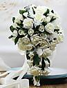 rosa com bouquet de casamento gota de orvalho