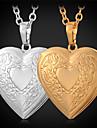 Dame Coliere cu Pandativ Medalioane Coliere Articole de ceramică Placat Auriu La modă Auriu Bijuterii Zilnic Casual 1 buc