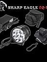 Sharp Eagle® Pannlampor 10800LM Lumen 5 Läge Cree XM-L2 U2 18650 Vattentät / LaddningsbarCamping/Vandring/Grottkrypning /