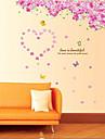 cherry blossom träd vardagsrum / sovrum vägg klistermärke