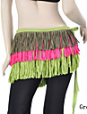 Belly Dance Belt Women\'s Training Cotton Tassel(s) Fuchsia / Green / Purple Belly Dance Spring, Fall, Winter, Summer Natural