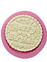 rondes fondantes happy anniversaire cake moule en silicone decoration moules  de chocolat gateau de silicone outils de gateau de