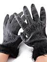 Handskar Cosplay Festival/Högtid Halloween Kostymer svart Enfärgat Handskar Halloween Unisex