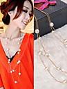 Party/Alltag/Normal - Straenge Halsketten ( Kuenstliche Perle )