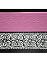 patru-c tort mat dantelă unelte de copt timbru sec silicon mucegai pentru decorare, silicon mat fondant instrumente de tort culoare roz