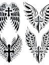 1 Tatueringsklistermärken Annat Stor storlek VattentätDam Herr Vuxen Tonåring Blixttatuering tillfälliga tatueringar