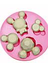 mickey mouse moule moule a cake en silicone decoration de silicone pour fondantes artisanat de bonbons bijoux PMC argile de resine
