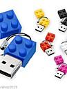 4GB leksaksklossar tecknad USB 2.0 Flash penna driva