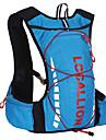 Randonnee pack/Cyclisme a dos/Sac de sport ( Rouge/Bleu , 10 L)  Etanche/Sechage rapide/Vestimentaire/MultifonctionnelCamping &