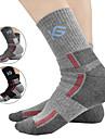 CoolChange Moto/Ciclismo Meias Homens Respiravel / Antibacteriano Algodao / Coolmax Classico / Fashion Tamanho livreAcampar e Caminhar /