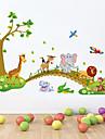 väggdekorationer Väggdekaler, djur pvc vägg klistermärken