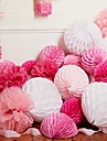 4 pcs 6 Inch (15cm)  Honeycomb Tissue Paper Flower Ball for Wedding Party Decoration(More Colors)