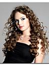 naisten pitsi edessä peruukki 10inch ~ 24inch Intia Hiusten väri (musta ruskea # 1 # 1b # 2 # 4) syvä aalto hiukset
