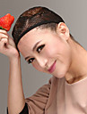 bekväma hög kvalitet svart peruk cap