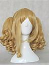 perruques de cheveux synthetiques de la femme de longues perruques ondulees animes naturels blonds perruques cosplay parti perruque