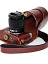 dengpin® PU läder olja huden påse avtagbar kamera täcker fallet för Fujifilm x-a2 x-a1 x-M1 (blandade färger)