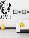perete decalcomanii autocolante de perete, stil Bob Marley una de dragoste cuvinte în limba engleză&citate autocolante de perete din