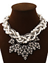 Vintage/Cute/Party/Work/Casual Alloy/Gemstone & Crystal/Imitation Pearl/Acrylic Statement