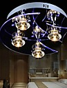 Chandelier Modern  Crystal Living 4 LED  Lights