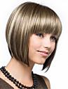 heta modeller i Europa och Amerika färgkvalitet syntetiskt hår peruk Sassoon mode