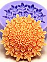 moules de cuisson fleur de cuisson en silicone pour gateau fondant bonbons de chocolat (couleurs aleatoires)