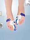 Hel kropp / Fot Stöder Tå separatorer & Bunion Pad Hållningskorrigerare / Lindra fot smärta Plastic #(1 pair)