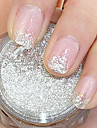 Silver Paillette Glitter Powder Nail Art Decorations