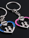 Wedding Keychain Favor [ Pack of 2Piece ] Non-personalised with Heart