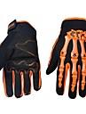 Gants de moto Doigt complet Nylon/Lycra/ABS M/L/XL Vert/Bleu/Orange