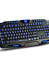 DuShiFangYuan USB Wired 114-Key LED Backlit Style Gaming Keyboard Luminous Programmable