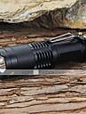 Belysning LED-Ficklampor / Ficklampor LED 1200 Lumen 5 Läge Cree XM-L T6 18650 Justerbar fokus / Stöttålig / Strike Bezel