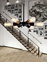 MAX:60W Lampe suspendue ,  Retro Dore Fonctionnalite for Style mini MetalSalle de sejour / Chambre a coucher / Salle a manger /