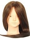 18 pouces melange salon de coiffure mannequin feminin Head Aucune couleur brune de maquillage