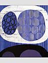 Peint a la main AbstraitModern / Style europeen Un Panneau Toile Peinture a l\'huile Hang-peint For Decoration d\'interieur