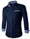 Chemises informelles ( Coton ) Informel Manches longues