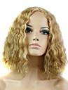 Europa och Förenta staterna den nya damen gyllene majs heta kort lockigt peruk