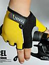 순환 자전거 (분류 된 색깔, 크기 평균)을위한 탄력있는 나일론 튼튼한 절반 손가락 장갑 3D 디자인
