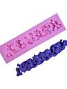 bakeware silikon vinstockar mönster fondant mögel kaka dekoration mögel