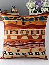 africa stil mänsklig kultur bomull / linne dekorativa kuddöverdrag