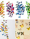 Animaux / 3D Stickers muraux Stickers muraux 3D Stickers muraux decoratifs / Stickers de frigo,PVC Materiel RepositionableDecoration