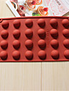 bakeware silikon bakformar choklad mögel cookies mögel