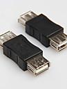 USB 2.0 type une femelle a femelle cable cordon adaptateur de connecteur coupleur convertisseur extender changeur coupleur