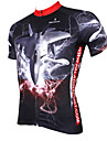 PALADIN® Cycling Jersey Men\'s Short Sleeve BikeBreathable / Quick Dry / Ultraviolet Resistant / Compression / Lightweight Materials /