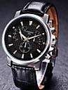 chenxi de haute qualite bracelet en cuir montre a quartz etanche